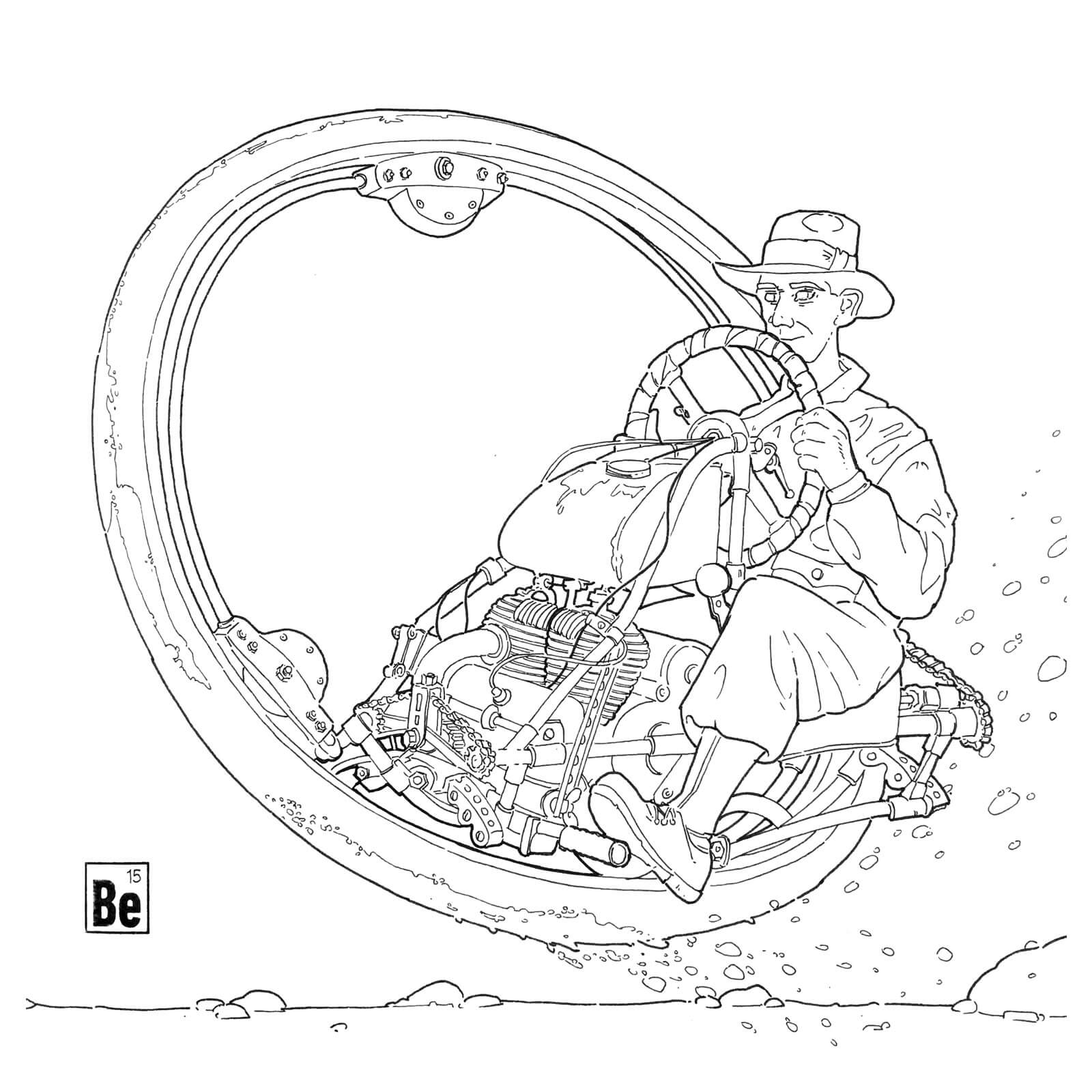 Grafik Monowheel