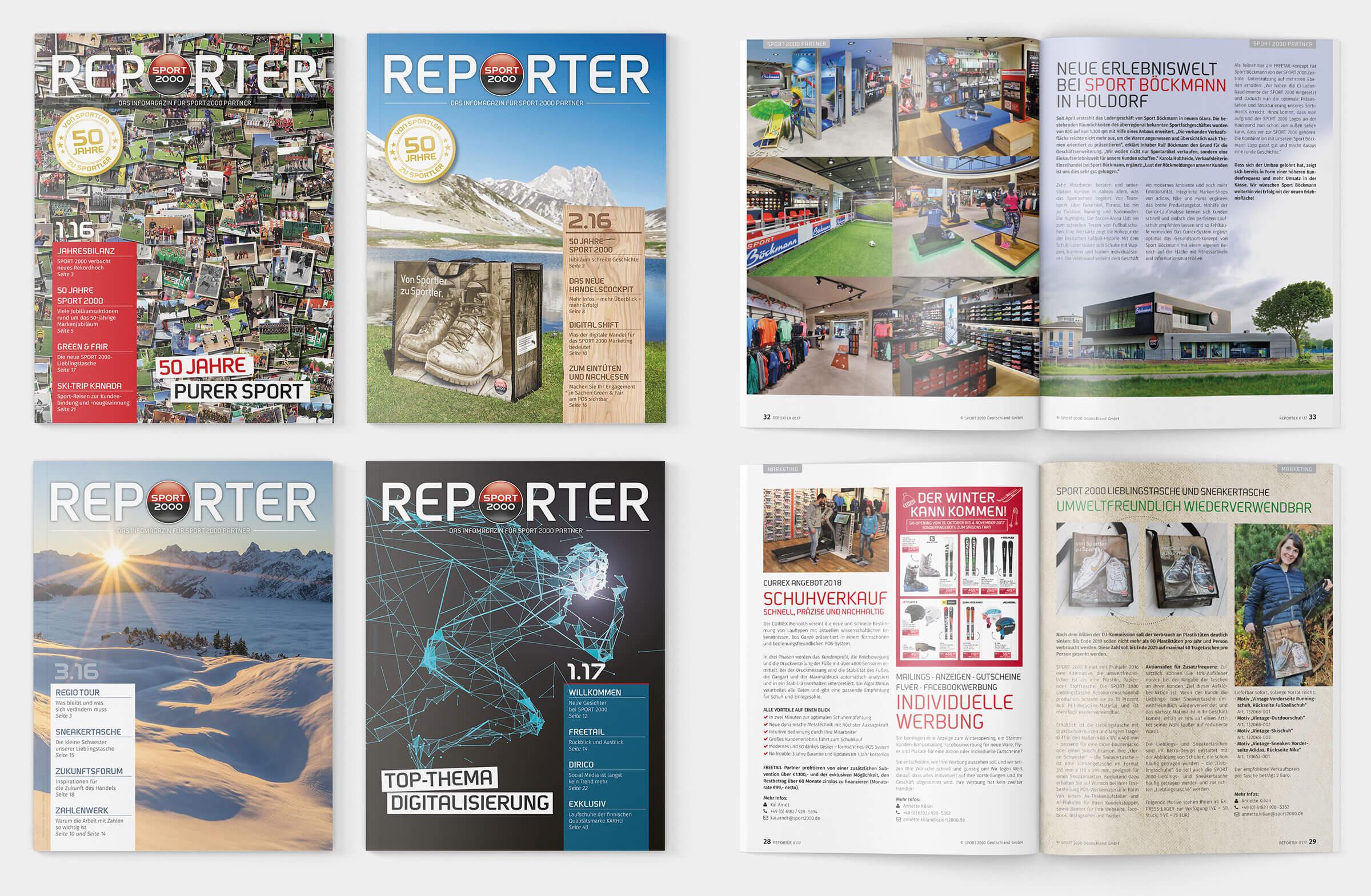 Editorial Design REPORTER