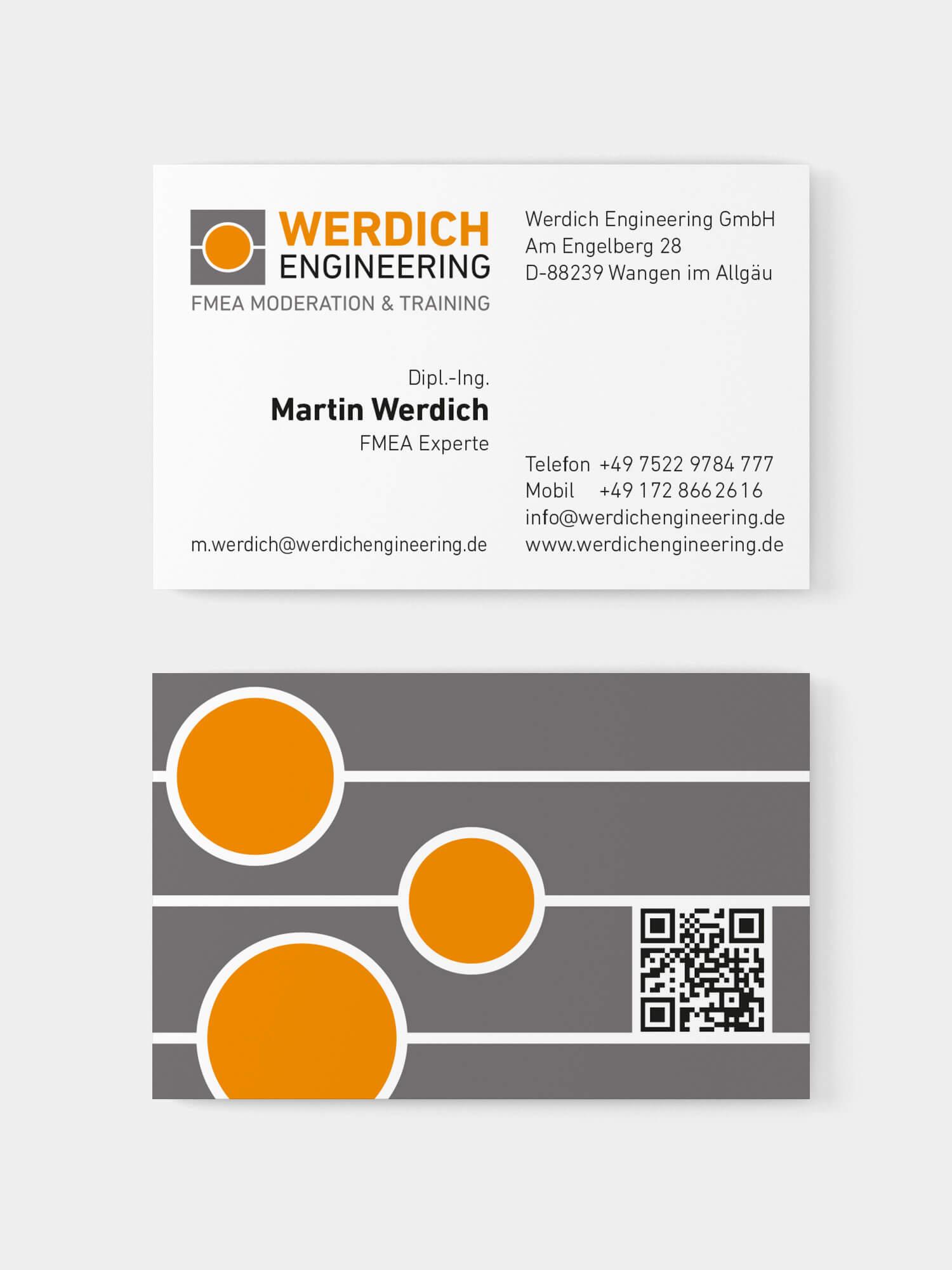 Visitenkarte Martin Werdich