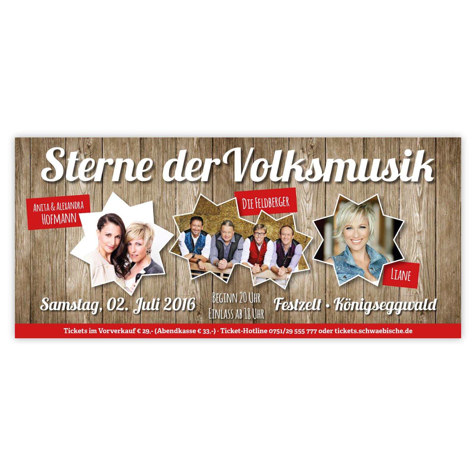 Banner Volksmusik