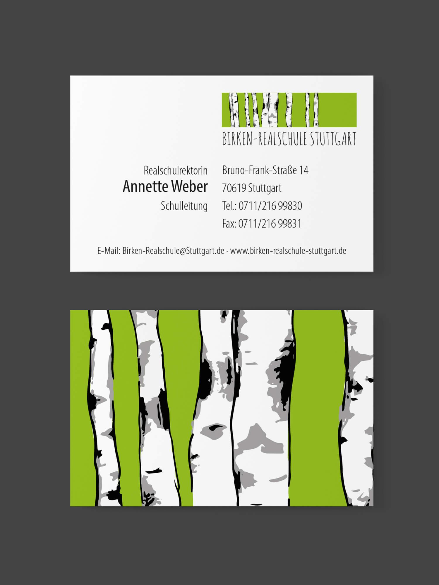 Visitenkarte Annette Weber